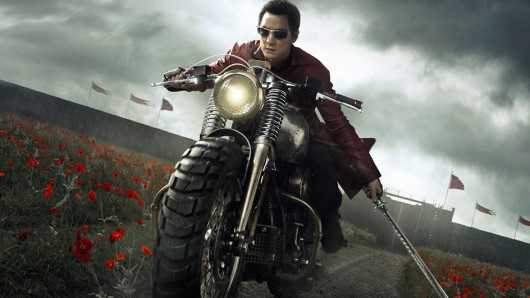 Desperado Danny Wu auf dem Weg Into the Badlands