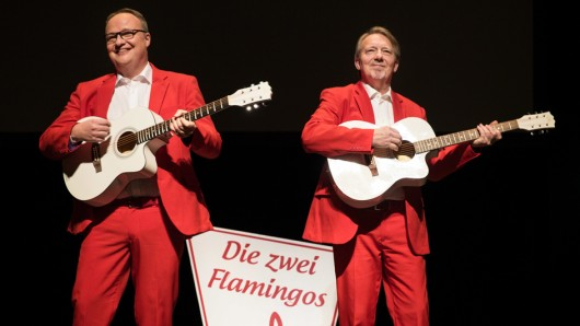 Oliver Welke (l.) und Ditmar Wischmeyer bei ihrem gemeinsamen Programm Im Herzen jung!.