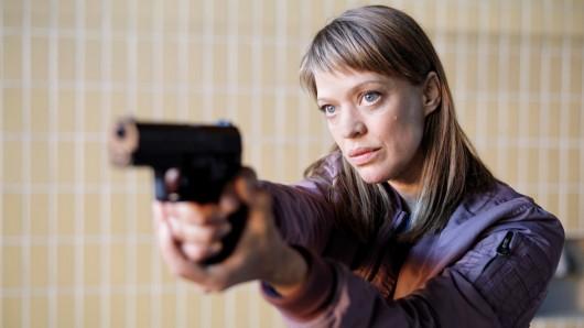 Heike Makatsch in ihrem ersten Tatort-Fall.