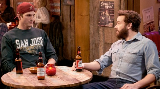Ashton Kutcher (l.) und Danny Masterson in The Ranch.
