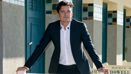 Takes it Easy: Orlando Bloom (39) beim 41. Deauville American Film Festival