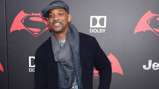 Suicide Squad-Star Will Smith auf der New Yorker Premiere seiner Comic-Kollegen Batman V Superman
