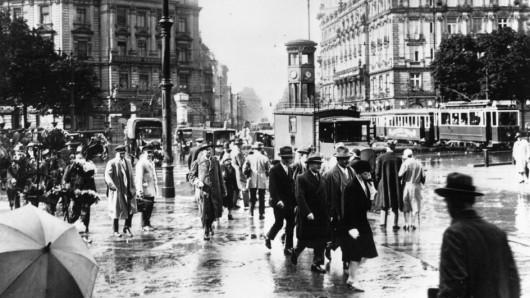 Der Potsdamer Platz im Januar 1927