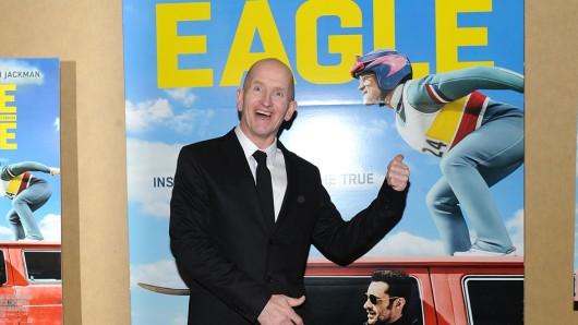 Skisprunglegende und Filmthema: Michael Eddie the Eagle Edwards (52)