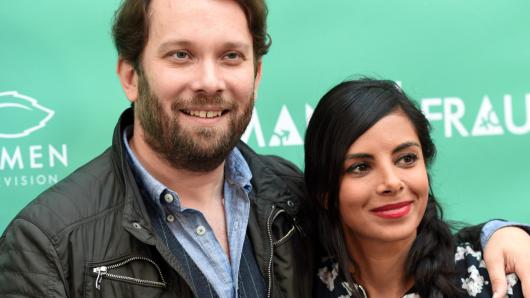 Auch hinter der Kamera Mann/Frau: Christian Ulmen (40) und Collien Ulmen-Fernandes (34)