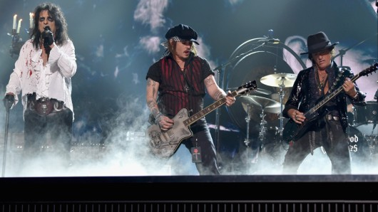 Die Hollywood Vampires. Foto: Larry Busacca/Getty Images