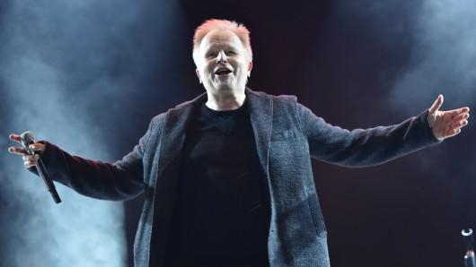 Auf der Bühne zuhause: Herbert Grönemeyer (60) live in München 2015