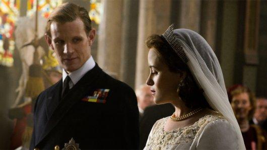 Matt Smith und Claire Foy als britisches Königspaar in The Crown
