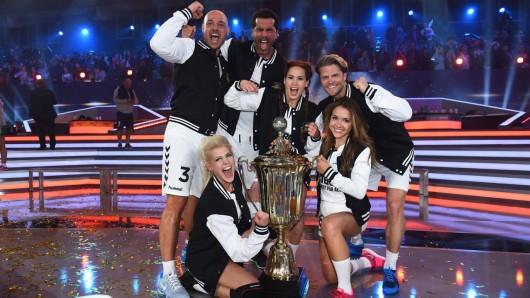Stolze Titelträger: Team Bachelor