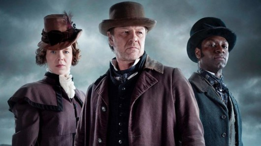 Die Stars der Frankenstein Chronicles: Mary Shelley (Anna Maxwell Martin), Inspektor John Marlott (Sean Bean) und Nightingale (Richie Campbell)