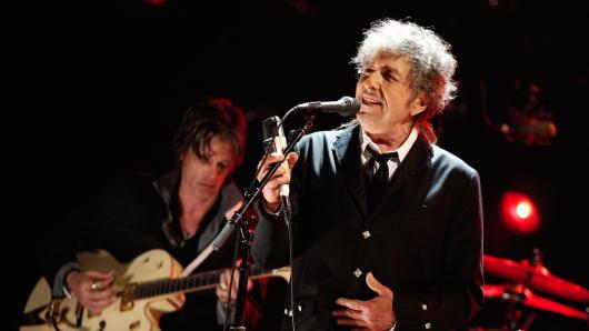 Bald auch Serienstar: Bob Dylan (74)