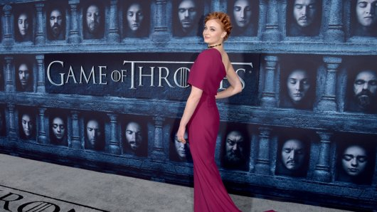 Sophie Turner alias Sansa Stark auf der Hollywood-Premiere von Game of Thrones-Staffel 6