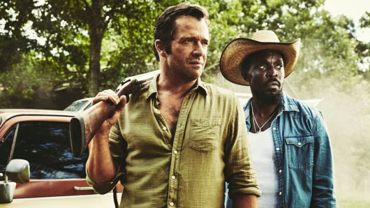 James Purefoy (l.) und Michael Kenneth Williams als Hap and Leonard