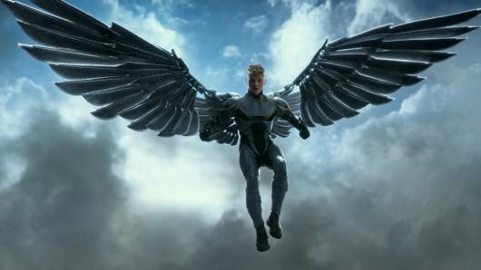 Ben Hardy als apokalyptischer Reiter Angel