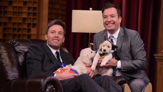 Ben Affleck zu Besuch in der The Tonight Show Starring Jimmy Fallon