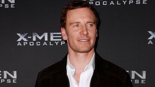 Michael Magneto Fassbender (38) beim VIP-Screening von X-Men: Apocalypse