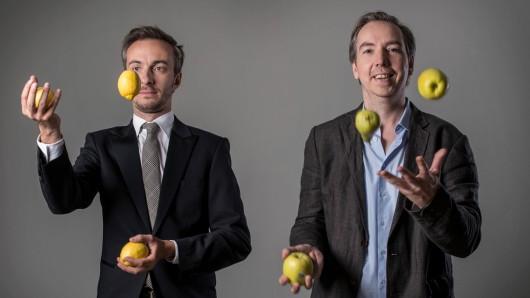 Sanft & Sorgfältig: Jan Böhmermann und Olli Schulz