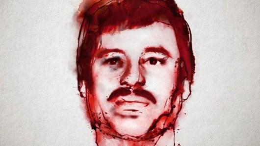 Netflix wirbt mit dem Konterfei des Drogenbosses für die geplante Serie El Chapo.