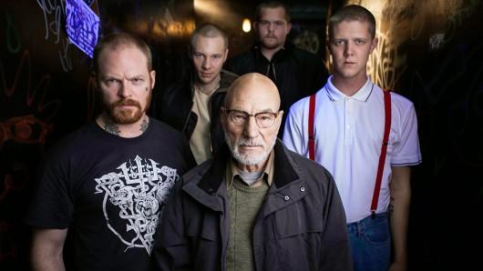 Richtig böse: Patrick Stewart (75) als Neonazi-Anführer Darcy in Green Room