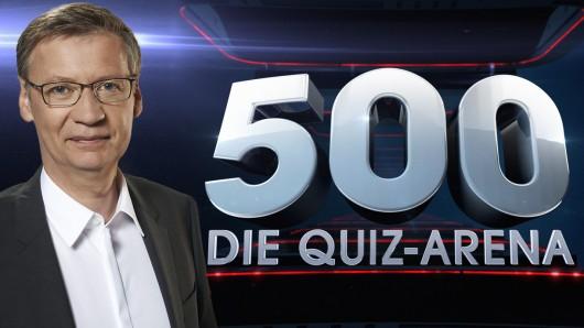 Ab dem 4. Juli moderiert Günther Jauch seine neue Show 500 - Die Quiz-Arena