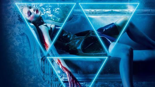Elle Fanning auf dem Poster-Artwork von Nicolas Winding Refns The Neon Demon