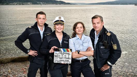 Hauptdarstellerin Floriane Daniel (2.v.l.) mit ihren Kollegen