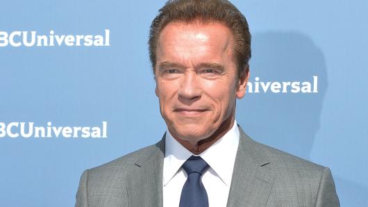 Erhielt 2015 die GOLDENE KAMERA für sein Lebenswerk: Arnold Schwarzenegger