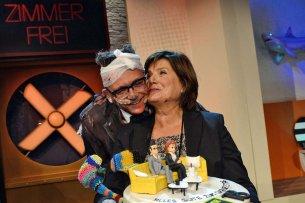 """Götz Alsmann und Christine Westermann moderieren am 25. September zum letzten Mal """"Zimmer frei!""""."""