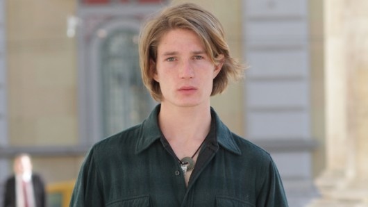 Mit Ernst bei der Sache: Schauspieler und Nachwuchsregisseur Sven Gielnik (22)