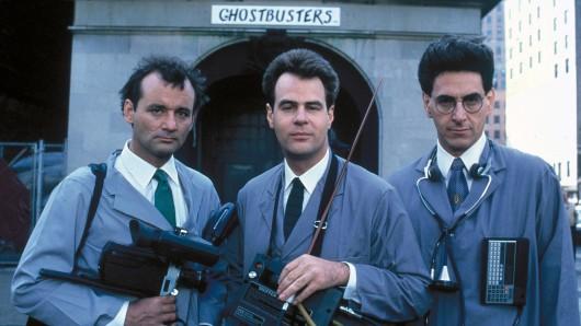 Helden der 80er: Die Original-Ghostbusters Bill Murray, Dan Aykroyd und Harold Ramis