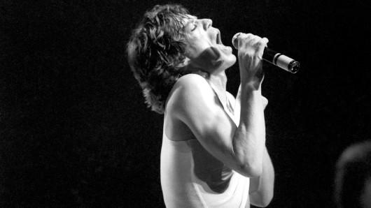 Mick Jagger, seit 1962 Frontman der Rolling Stones