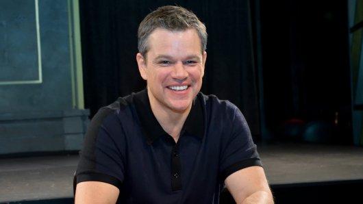 Hat trotz seines hohen Alters gut Lachen: Jason Bourne-Star Matt Damon (45)