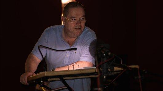Synchronsprecher Jan Odle bei Aufnahmen zur HBO-Serie The Night Of im Studio der FFS München