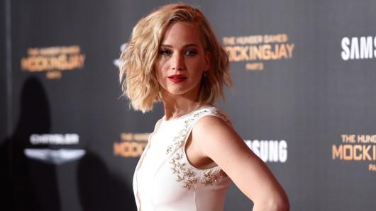 Nach US-Gesetz gerade mal volljährig und schon Multimillionärin: Jennifer Lawrence (21)