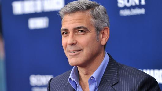 Engagiert: George Clooney