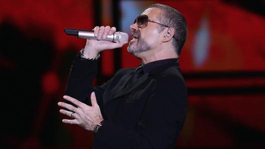 George Michael 2011 auf der Bühne in Mailand