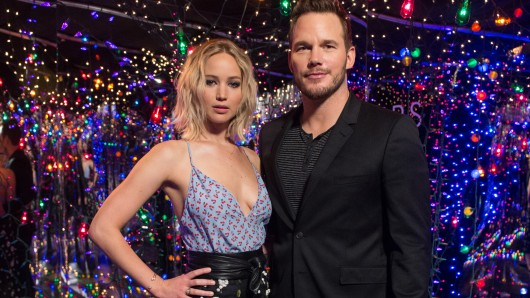 Traumpaar der Sterne: Jennifer Lawrence (26) und Chris Pratt (37) promoten ihren neuen Film Passengers