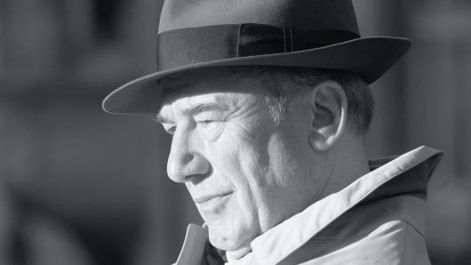 Dietz-Werner Steck als Hauptkommissar Ernst Bienzle