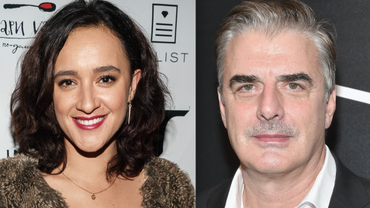 Keisha Castle-Hughes, Chris Noth