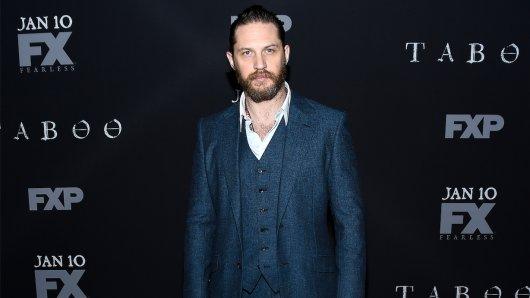 """007-Kandidat Tom Hardy (39) bei der Premiere seines aktuellen Serien-Projekts """"Taboo"""""""