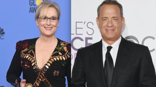 Hollywood-Veteranen: Meryl Steep und Tom Hanks