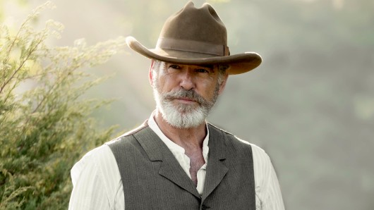 Pierce Brosnan als texanischer Wild-West-Patriarch Eli McCullough in seiner neuen Serie The Son