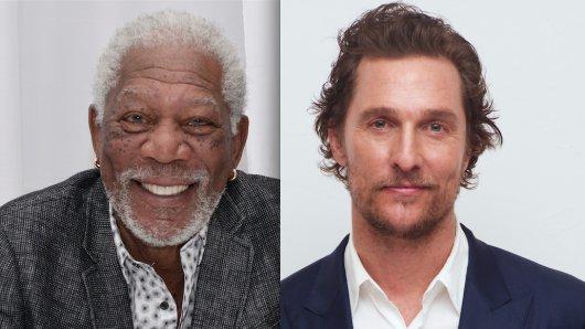 Das Kino-Duell der GOLDENE KAMERA-Gewinner: Morgan Freeman vs. Matthew McConaughey