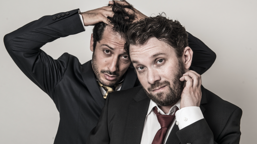 Fahri Yardim (l.) und Christian Ulmen sind Jerks