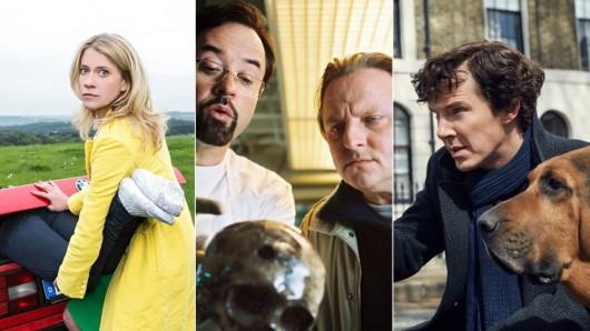 Spaßige Spürnasen aus Mord mit Aussicht, dem Münster-Tatort und Sherlock