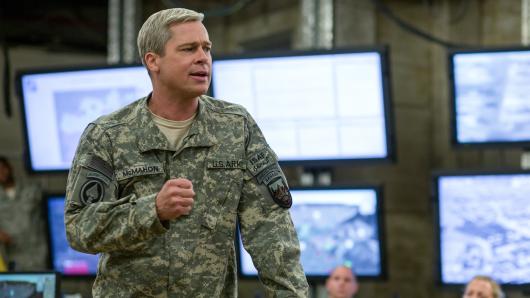 Brad Pitt als Vier-Sterne-General