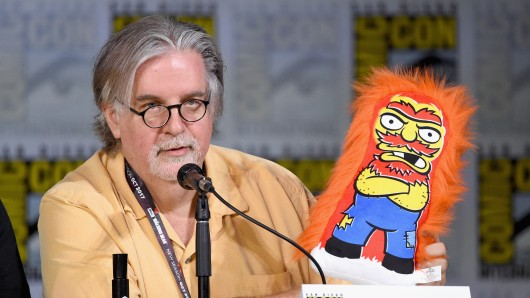Matt Groening diese Woche auf der Comic-Con in San Diego