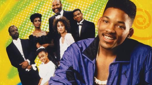 Fernseh-Kult: Von 1990 bis 1996 mischte Will Smith als Der Prinz von Bel-Air die Banks-Familie auf
