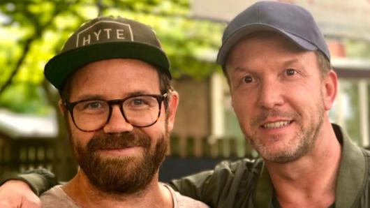 Die neuen Herren der Circus Krone-Manege: Regisseur Sven Bohse (l.) und Produzent Stefan Raiser