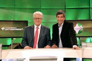 Frank Elstner und Ranga Yogeshwar haben die Wissenschaftsshow gemeinsam moderiert